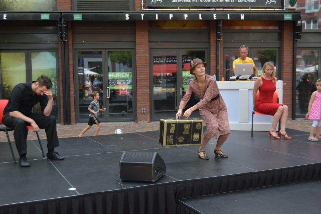 Joyce Willemse in performance.  © Persgroep