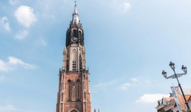 De toren van de nieuwe kerk (foto: Justyna van Grootveld).
