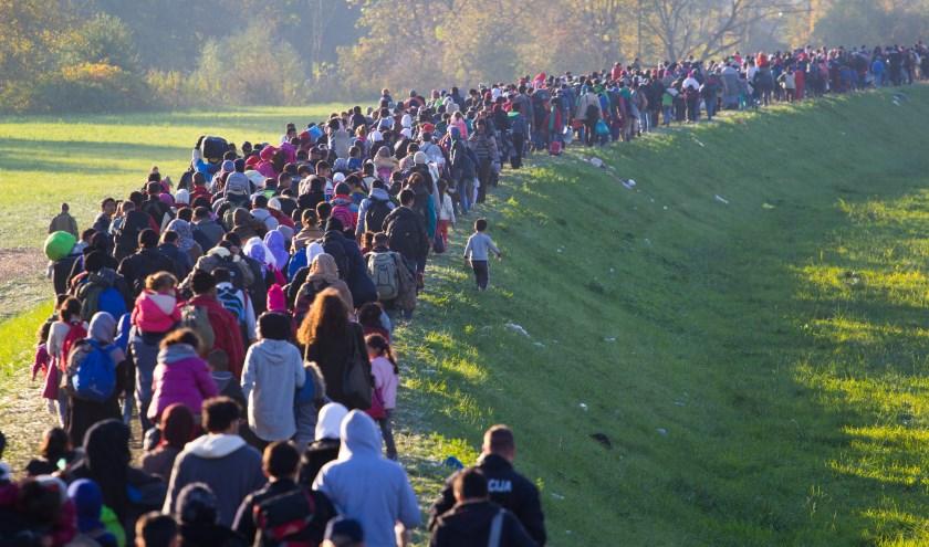 71 miljoen vluchtelingen telt de wereld op dit moment. Foto: Shutterstock.