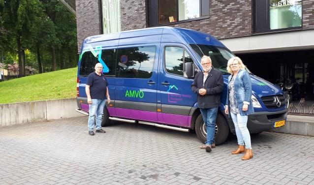 De AMVO-bus ie een betaalbare en toegankelijk oplossing voor met name ouderen met een vervoersprobleem. (Foto: Gemeentebelang)