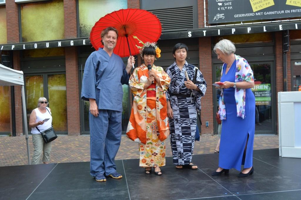 Erik die tien jaar in Japan woonde met zijn vrouw.  © Persgroep