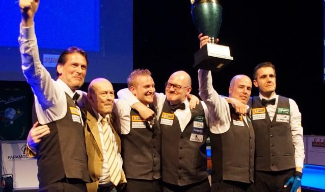 Titelverdediger STZ Zundert komt ook naar Berlicum. Er wordt weer biljart gespeeld op topniveau. Foto: Ton Smilde.