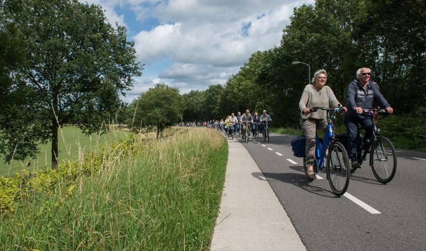 De fietstocht Epe voor Epe wordt zaterdag 22 juni verreden. (foto: Dennis Dekker, www.mediamagneet.nl)