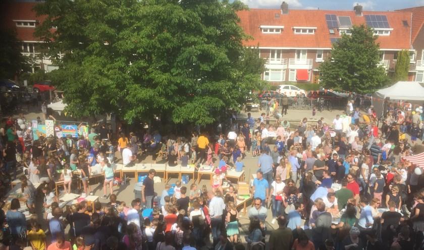 De Parade di Domi op vrijdagmiddag 14 juni werd goed bezocht.