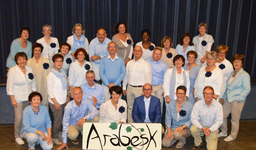 Koor Arabesk presenteert zaterdag samen met popkoor Undercover een duoconcert in De Wetering in Loon op Zand.