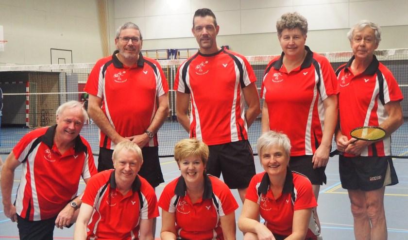 """We hebben badmintonners uit Markelo, Deventer, Rijssen, Lochem, Bathmen en Nijverdal"""", vertelt PR-medewerker Harry Knuiman van de Badminton Club Holten. Eigen foto."""