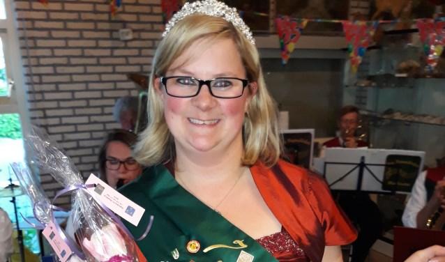 De enige echte 'Nelkenkönigin' uit Blomberg. (foto: pr)