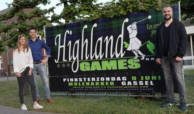 De organisatie van de derde Highland Games is er klaar voor. (foto Marco van den Broek)