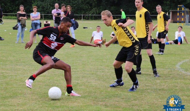 Er doen veertig teams mee aan het toernooi in Velp.