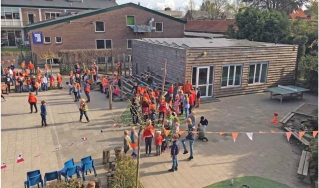 schoolplein en technieklokaal