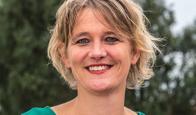 Zwolle Hilda van der Tuin over brugklassers. © 2015 Foto Frans Paalman Zwolle