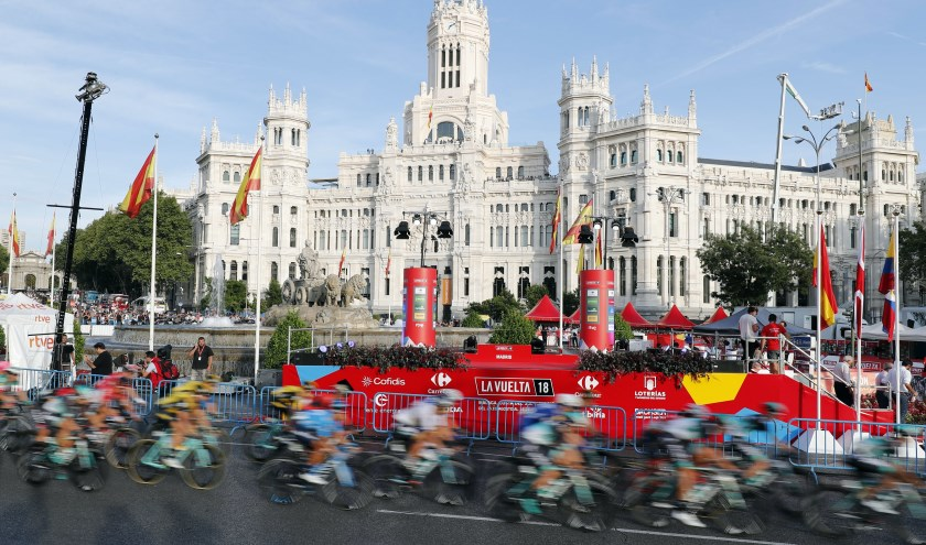 Vuelta Espana 2018; Etappe 21 Alcorcon - Madrid .100;9 Km ; Zondag 16 september 2018.