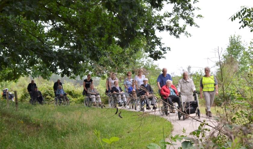 De jaarlijkse rolstoelwandeling van SWOM vindt op donderdag 13 juni vanaf 12.30 uur plaats. (foto: Jan Maas)