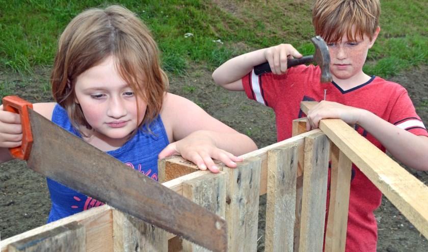 Tijdens de laatste weken van de zomervakantie staan er vaak nog  kindervakantieweken op het programma.  foto: Carrie Frederiks