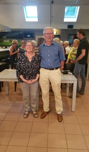 Maria van de Molengraft en Bert Swinkels.