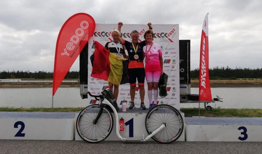 1 Riek Sinia ,2 Christine Declecrk ,3 Jaroslava Machackova