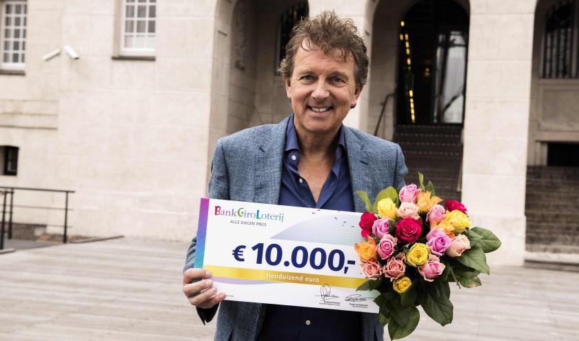 BankGiro Loterij-ambassadeur Robert ten Brink (Foto Roy Beusker)