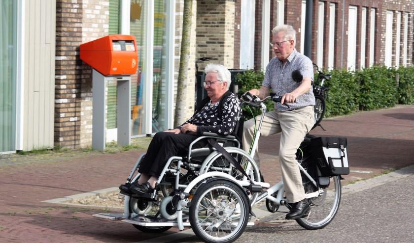 Samen met een fietsmaatje mooie tochten maken. (foto: persfoto)