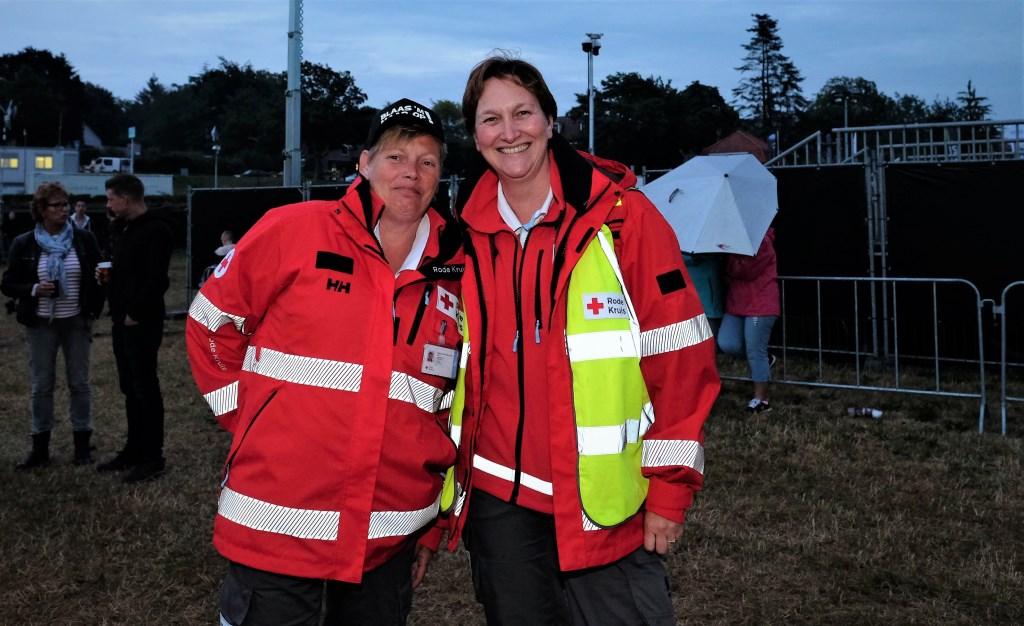 Onmisbaar het Rode Kruis.  © Persgroep