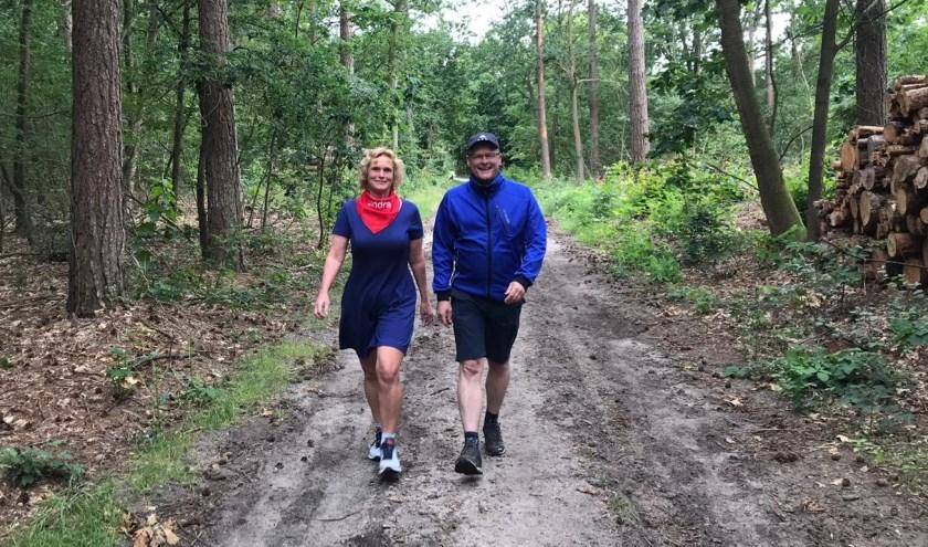 Sandra de Hoog en Eddie Breunesse hebben al heel wat kilometers in de benen. FOTO: Lotte Smelik