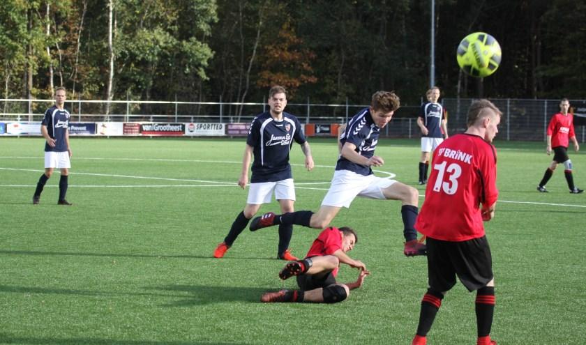 Een uitwedstrijd tegen Harskamp hoeft dit seizoen niet voor VV Stroe.