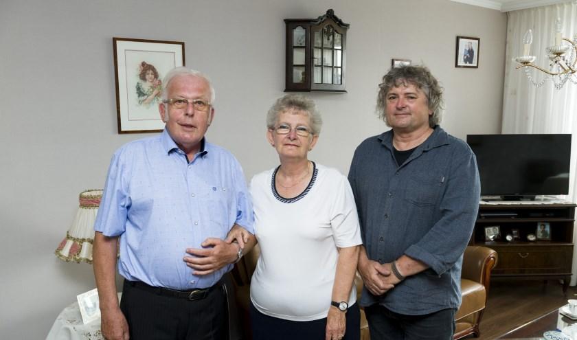 Fam Marcelis-Bezemer 50 jaar getrouwd. (Foto: Richard van Hoek)