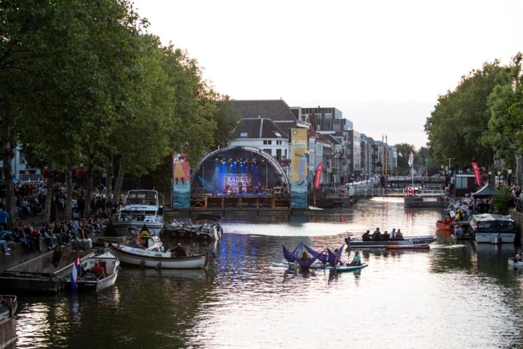 Utrecht geniet volop vanaf en rondom het water van Culturele Zondag Kadeconcert Foto: Anna van Kooij © Persgroep