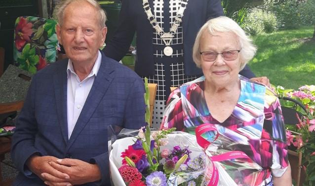 Echtpaar Bos 60 jaar gehuwd