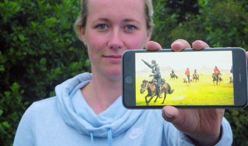 Linda van Gorkum (29) doet begin augustus mee aan de Mongol Derby, de langste en zwaarste paardenrace ter wereld.