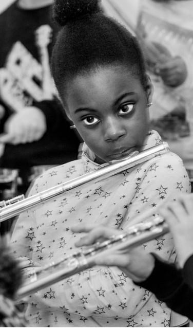 Deze foto van een van de leerlingen van basisschool 'De Fontein' maakt onderdeel uit van de expositie. Foto: Huib Kooyker Fotografie
