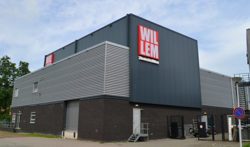 Twee keer per jaar is er een voorstelling in theater De Willem. (foto: Arco van der Lee)