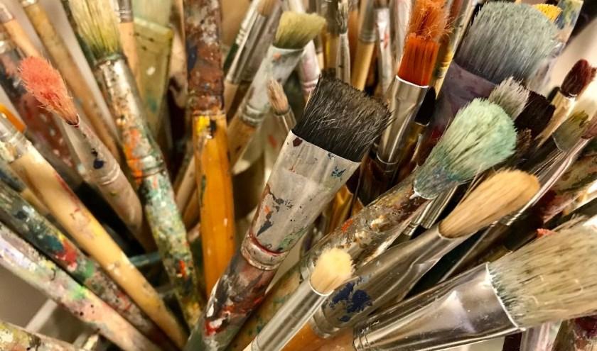 Een kleine impressie van wat er bij atelier De Zwaan allemaal te doen is.