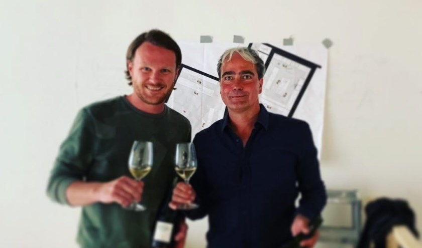 Wouter Kik (links) en Jean Luc Etienne van het nieuwe Restaurant Codium