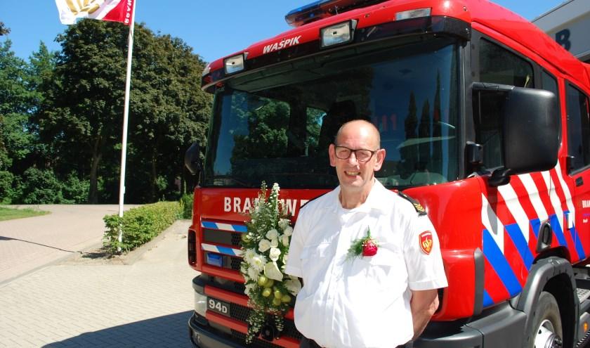 Martin de Cloe heeft op maandag 1 juli na veertig jaar afscheid genomen van Brandweervereniging post Waspik.