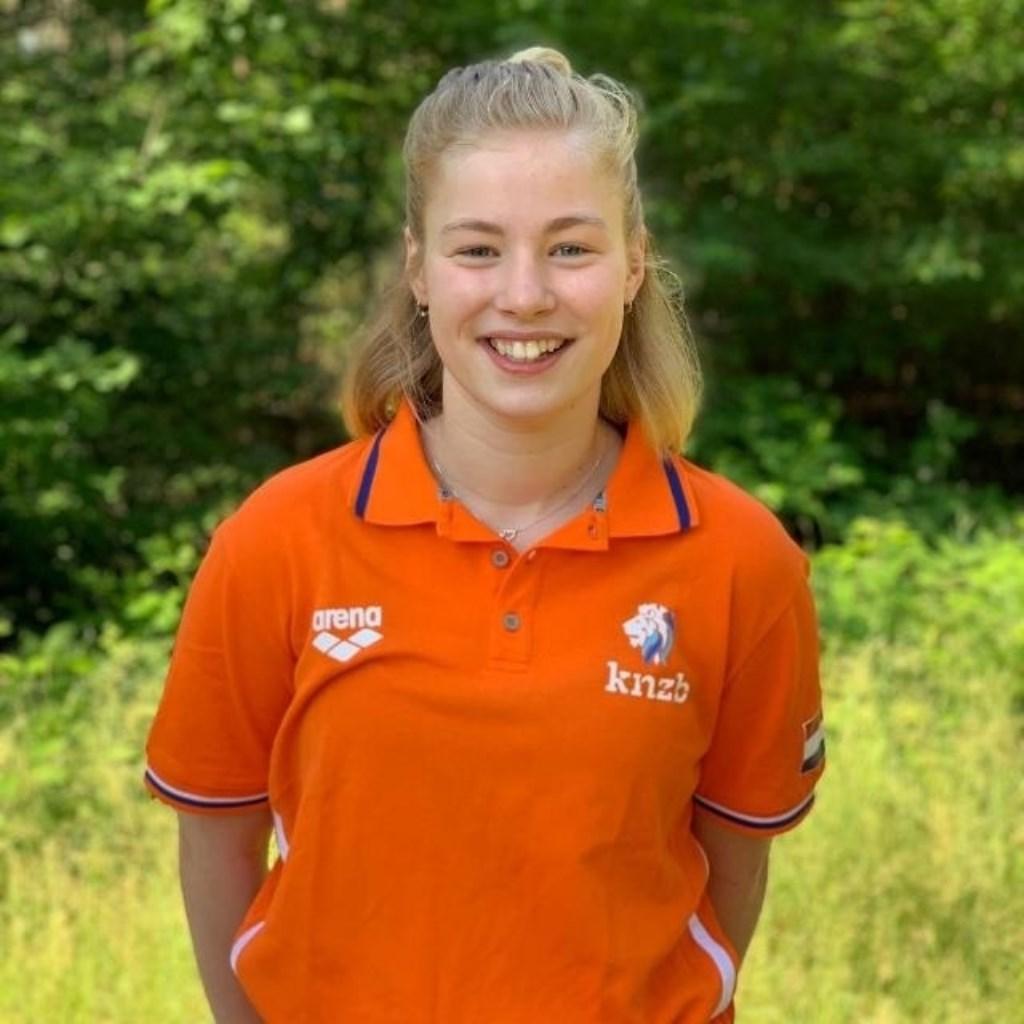 Nina van Geijn, waterpolo Jong Oranje  © Persgroep