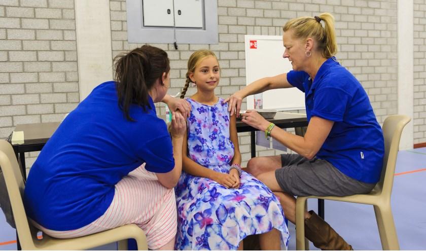 De grote campagne tegen meningokokkenziekte is afgerond. Foto: rivas
