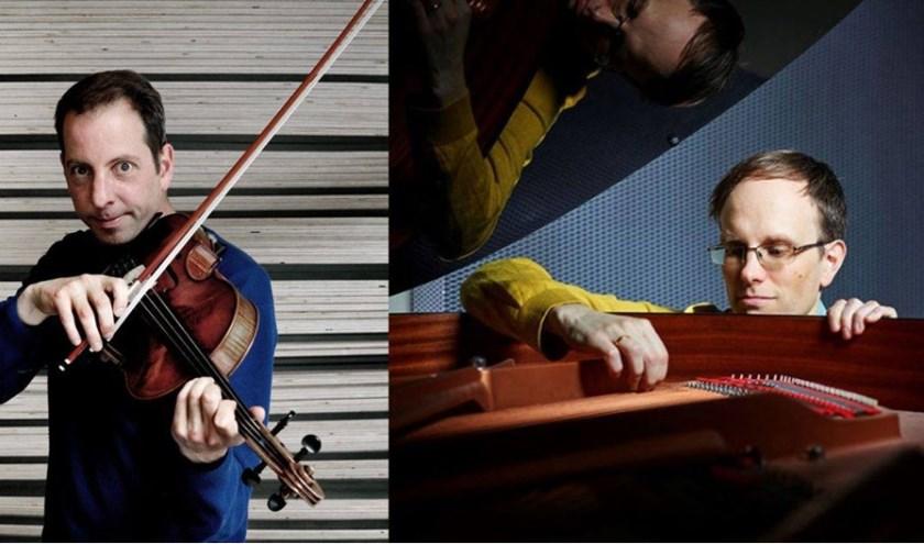 Philipp Rüttgers en Oene van Geel delen de liefde voor improvisatie.