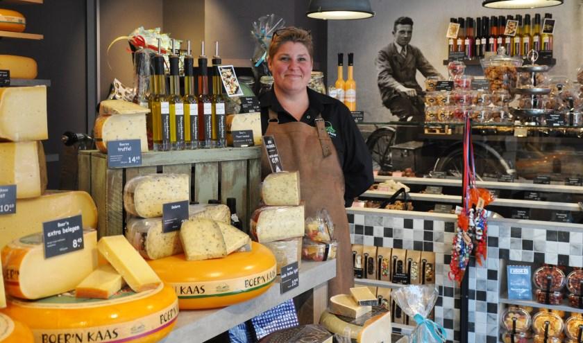 Liana Kievit, een nieuwe ondernemer in de binnenstad van Woerden. Foto: Jaco Kazius