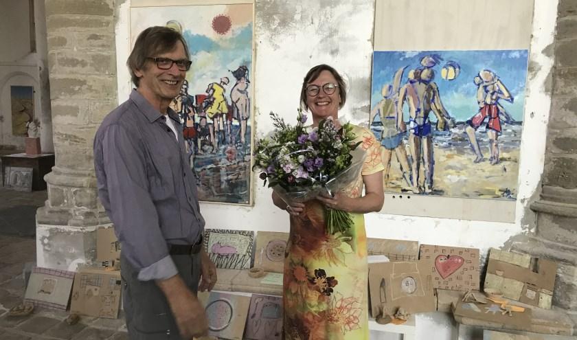 Coen van den Ende met Ankie Smit