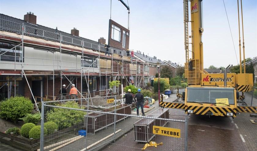 120 woningen in Vriezenveen zijn verduurzaamd. Foto: Ben Vulkers