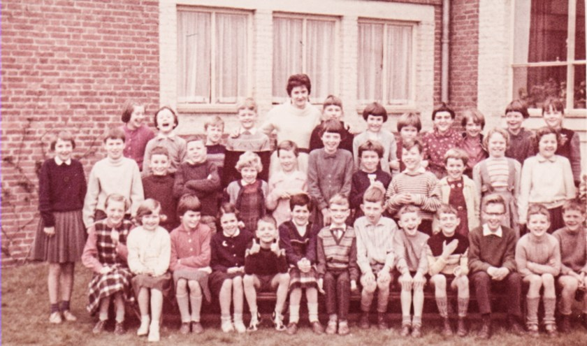 4e klas Pius X-school 1961