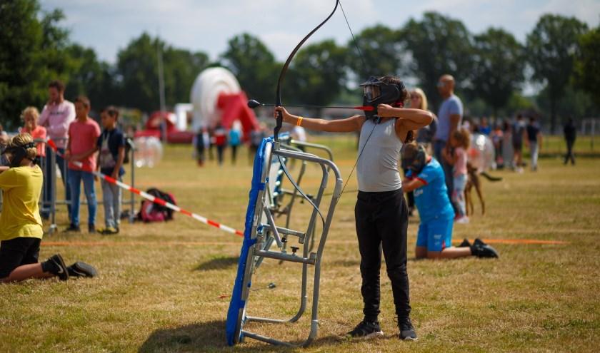 Ruim 300 kinderen in de leeftijd van 4 tot 16 jaar genoten op de eerste vakantiewoensdag van de eerste editie van de Sportaal Summer Kick-off.
