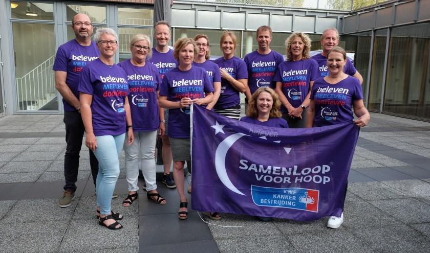 Het organiserend comité roept op voor deelname. Inschrijven kan nog steeds via de website van SamenLoop voor Hoop.