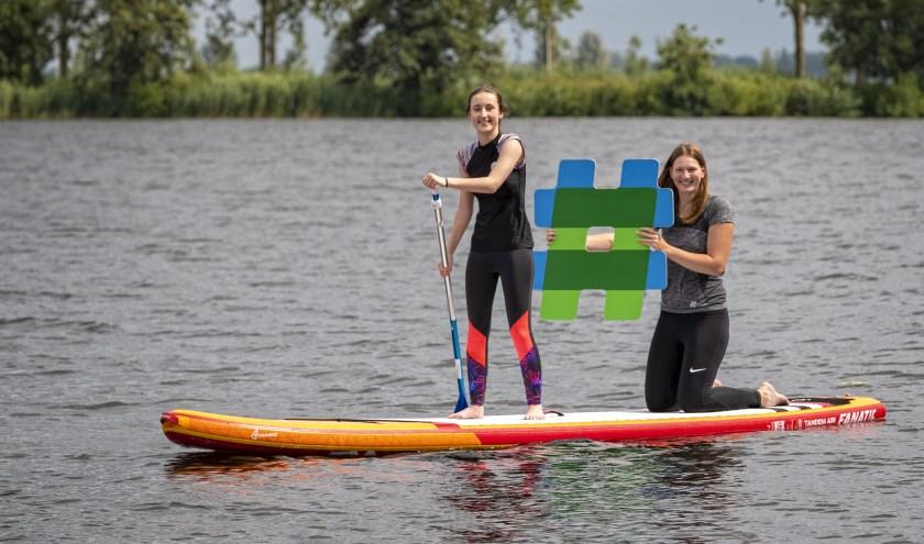 """Anky: """"De surfvereniging Zegerplas organiseert tripjes naar bijvoorbeeld de Reeuwijkse plassen en je je kan er ook techniek-trainingen volgen."""""""