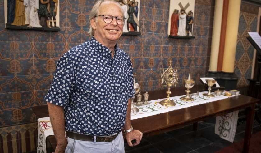 Vrijwilliger Tonnie Gesthuizen was een regelmatige bezoeker van de Sint Victorkerk in Batenburg (foto: Jimmy Israël)