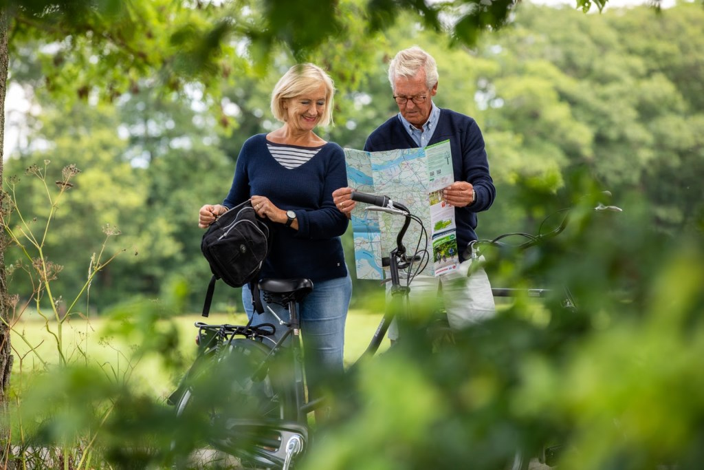 Voor de fietsliefhebbers zijn de nieuwe kaarten ideaal om Brabant te verkennen. Stippel je rit uit van knoop-punt naar knooppunt en laat je verrassen als je over de - mooiste - fietspaden en wegen van Brabant fietst.  © Persgroep