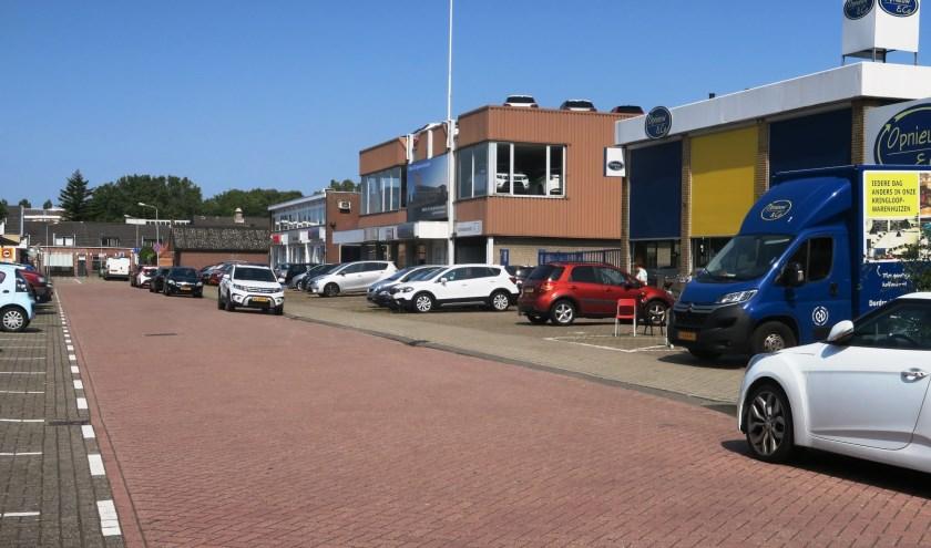 Meer ruimte voor woningbouw aan de PC Hooftstraat. (tekst en foto GvS)