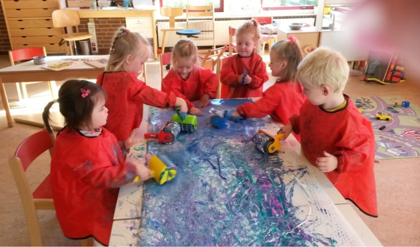 Door een zo rijk mogelijke speelomgeving te creëren, probeert De Welle kinderen uit te dagen. Eigen foto.