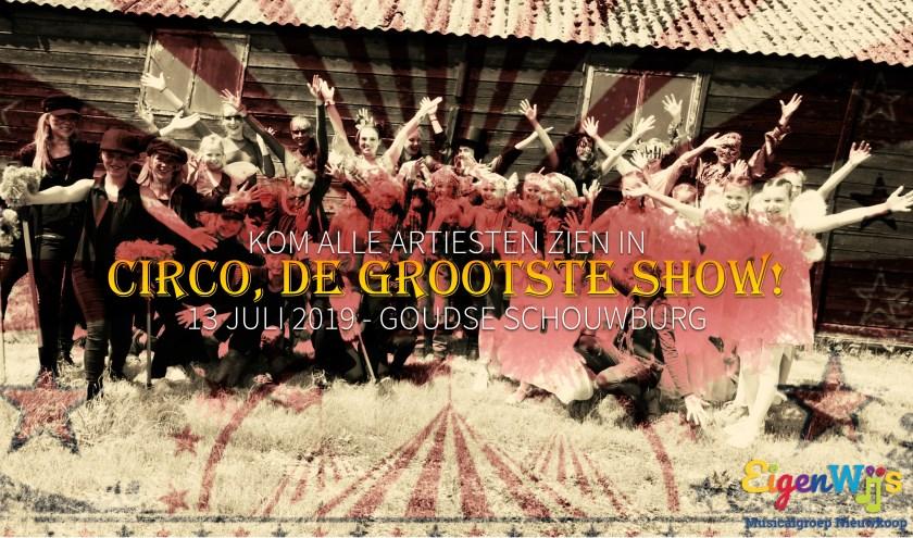 Uitnodiging: kom naar CIRCO, de grootste show