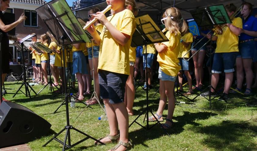 De jonge muzikanten oogstten veel bewondering (Foto: PR)